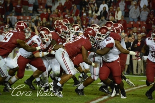 Alabama VS Arkansas Fall 2013